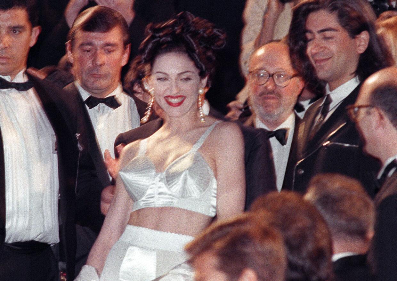 Madonna iført Jean Paul Gaultiers design i 1991.