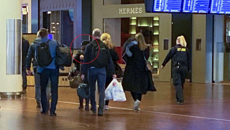 Den terrorsigtede kvinde i Københavns Lufthavn.