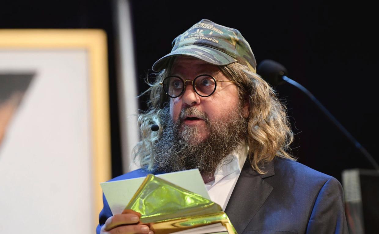 Anders Lund Madsen stod for værtstjansen ved Tv-prisen. Foto: Nørgaard & Nørgaard.