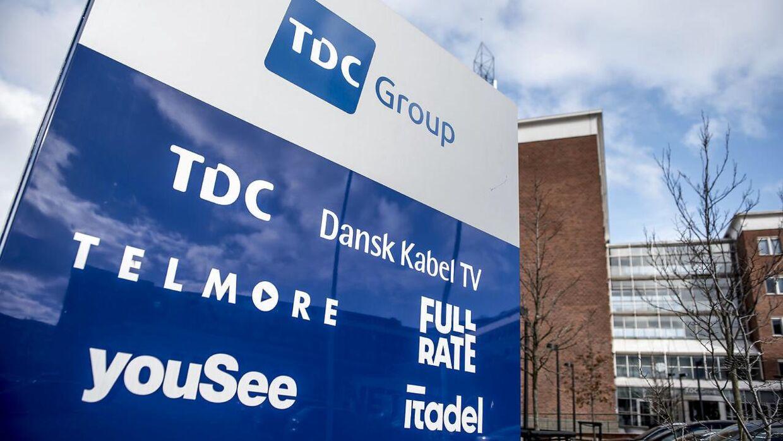 TDCs hovedkvarter på Teglholmsgade i København, fredag den 16. marts 2018. Selskabet, som har 200.000 kunder, bliver nu flyttet ind under YouSee. Det meddeler ejeren TDC. Det skriver Ritzau, mandag den 20. januar 2020.
