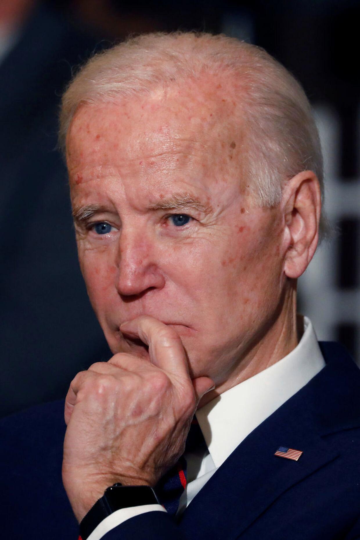 Joe Biden er ifølge samtlige menigsmålinger stadig den demokratiske præsidentkandidat, der har bedst chancer for at vinde over Donald Trump til november.