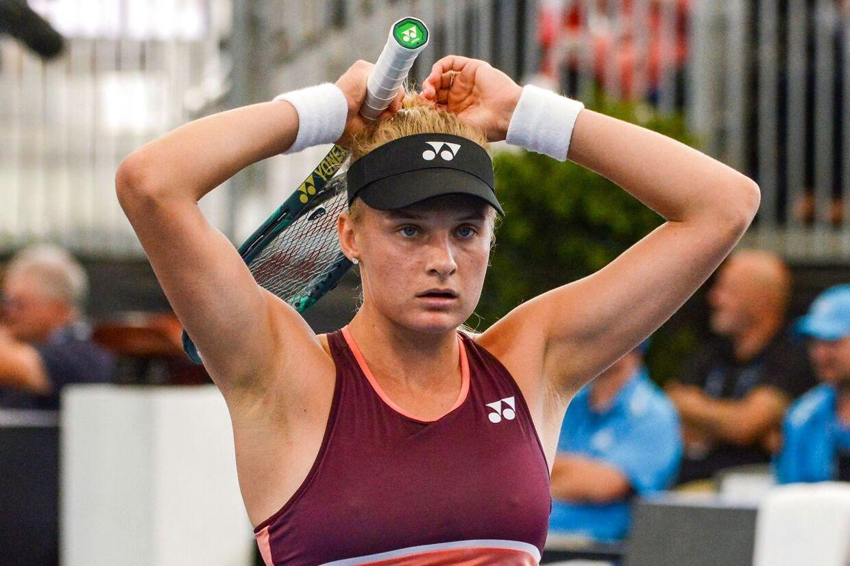 Dayana Yastremska tabte før Australian Open finalen ved WTA-turneringen i Adelaide mod Ashleigh Barty.
