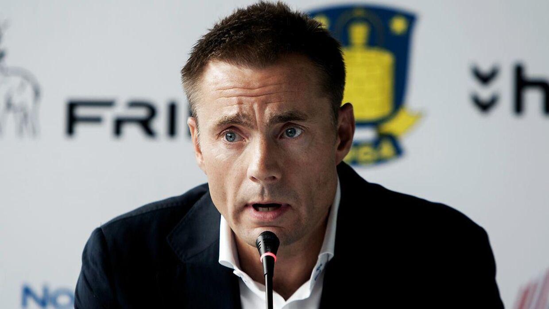 Jan Bech Andersen og Brøndby har i weekenden angiveligt haft fint besøg.