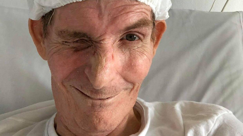 Henrik Vind inden en operation på Odense Universitetshospital.
