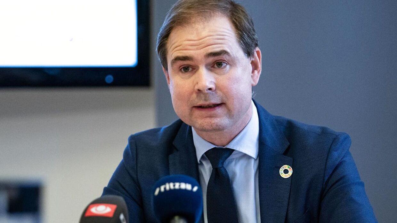 Finansminister Nicolai Wammen (S).