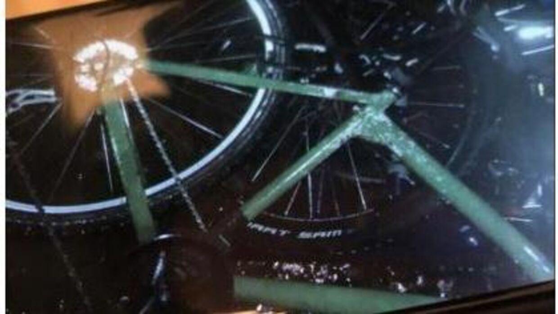 Det er denne cykel Karolis Grazulis muligvis har forladt sin bopæl på.