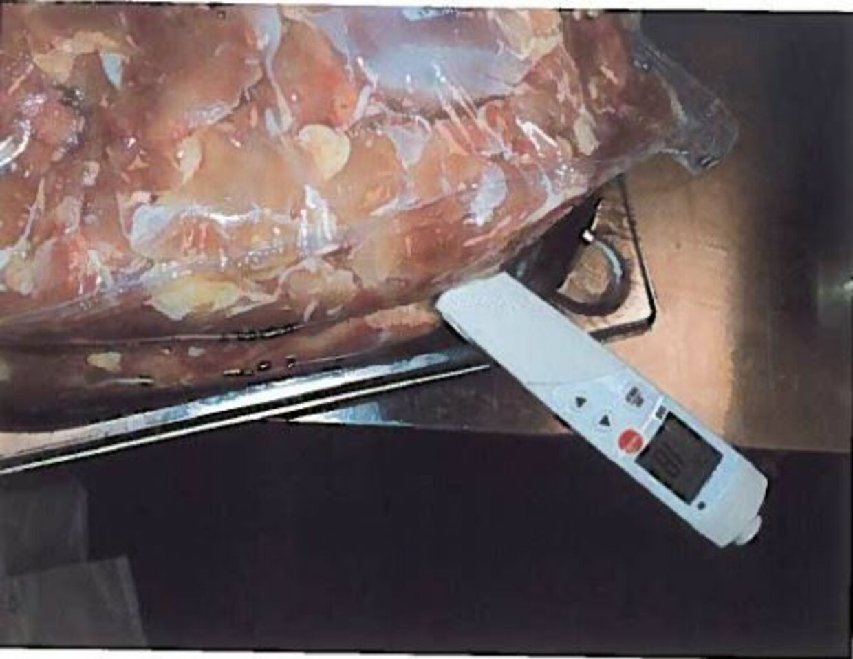 Råt kyllingekød opbevaret i køkkenet blev målt til hele 18,8 grader.