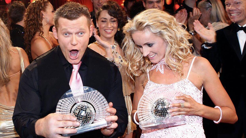 Joachim B. Oldsen og Marianne Eihilt vandt 'Vild med Dans' i 2008.