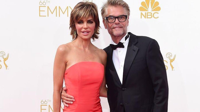 Harry Hamlin med sin kone, skuespillerinden Lisa Rinna.