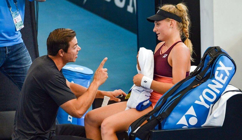 Sascha Bajin er i dag træner for ukrainske Dayana Yastremska, der ligger nummer 21 på verdensranglisten.