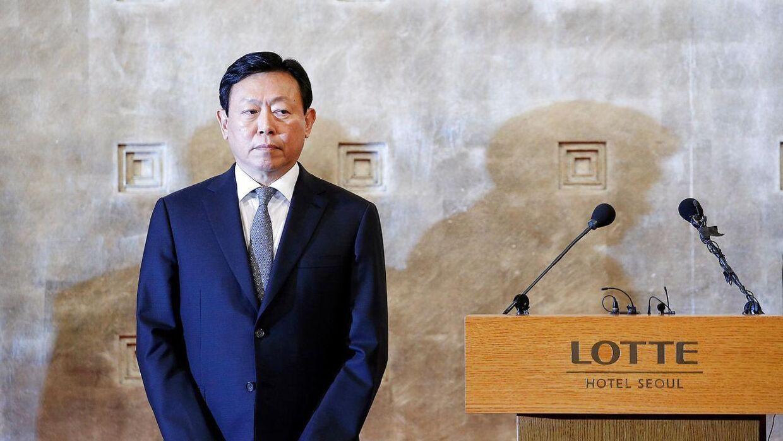 Shin Dong-bin, yngste søn af den nu afdøde milliardær