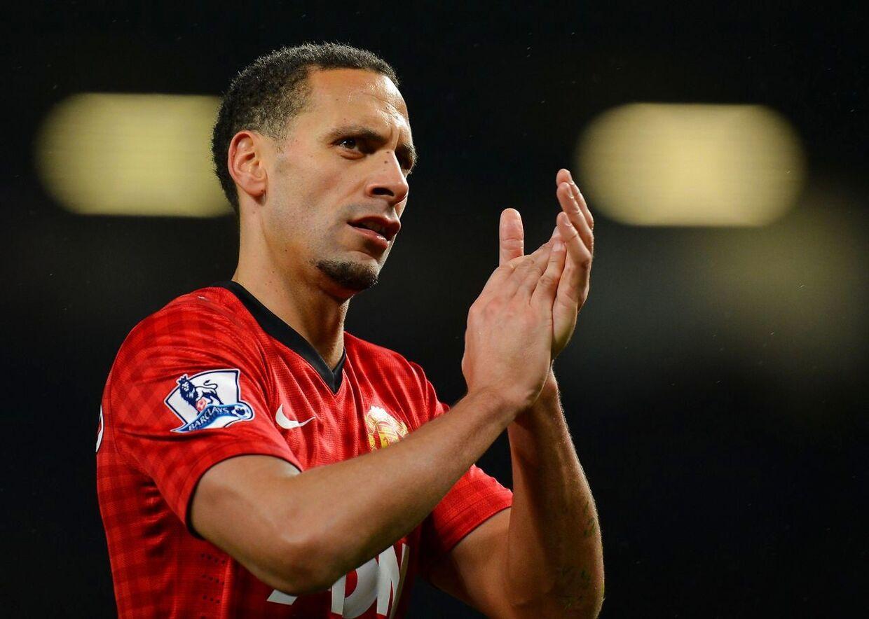 Rio Ferdinand spillede i Manchester United i 14 år.