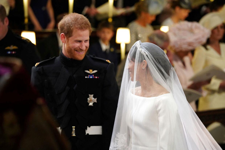 Millioner af tv-seere fulgte med, da Meghan Markle gav prins Harry sit ja.