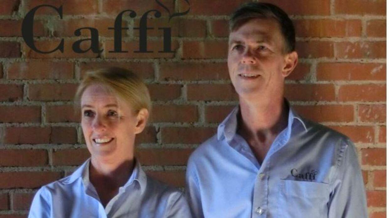 Ann Sofie Forssling og Jakob Forssling står bag virksomheden Caffi.