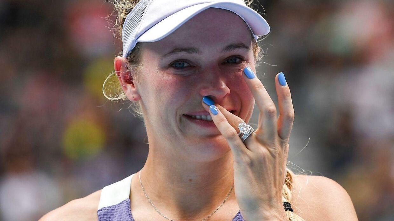 Caroline Wozniacki røg tidligt fredag morgen dansk tid ud af Australian Open. Dermed er karrieren slut.