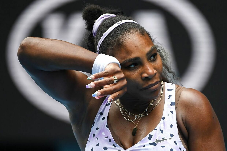 Serena Williams fik kun tre kampe ved årets Australian Open.