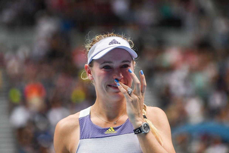 Caroline Wozniacki har slået til sin sidste bold.