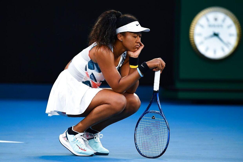 Naomi Osaka er færdig ved Australian Open.