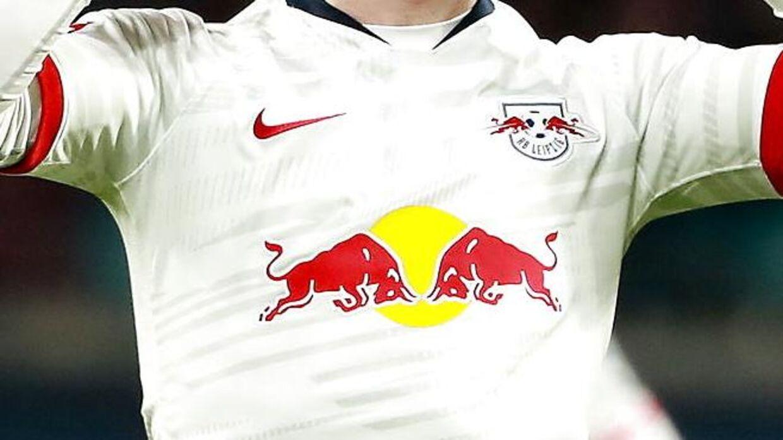 Sådan ser RB Leipzigs trøje ud.