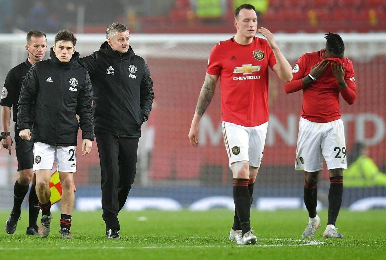 Skuffelse i Manchester United-lejren efter nederlaget til Burnley.