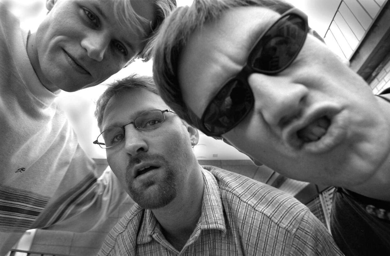 I 90'erne var Østkyst Hustlers på toppen. Fra venstre: Bossy Bo, DJ Peyk og Jazzy H