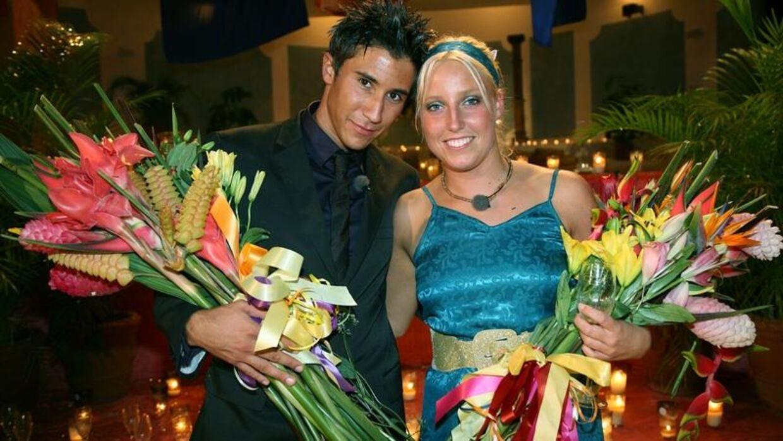 Nick Zitouni (venstre) vandt Paradise Hotel tilbage i 2008.