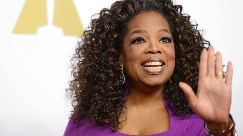 ARKIVFOTO af Oprah Winfrey.