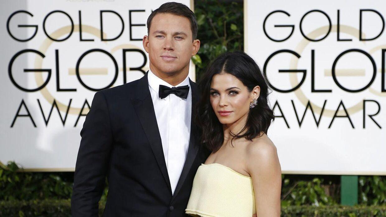 Channing Tatum og ekskonen Jenna Dewan. Parret blev i 2018 skilt efter ni års ægteskab sammen.