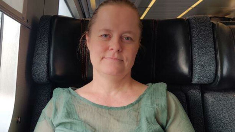 Pia Helgarts har haft konstant hikke i ni år.
