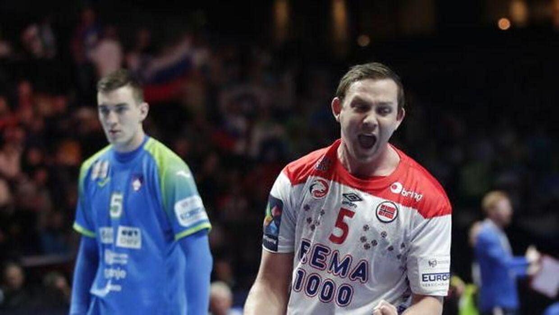 Norge rejser sig og slår og Slovenien i kampen om bronze-medaljerne.