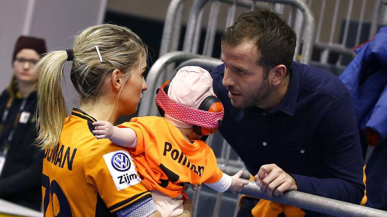 Estavana Polman og Rafael van der Vaarts samarbejder om at holde Team Esbjerg på sporet.