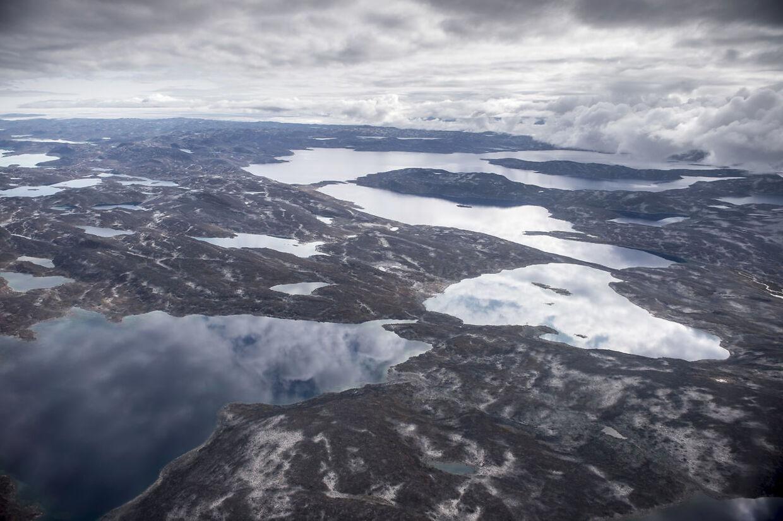 Indlandsisen nær Nuuk i Grønland, søndag den 18. august 2019.. (Foto: Mads Claus Rasmussen/Ritzau Scanpix)