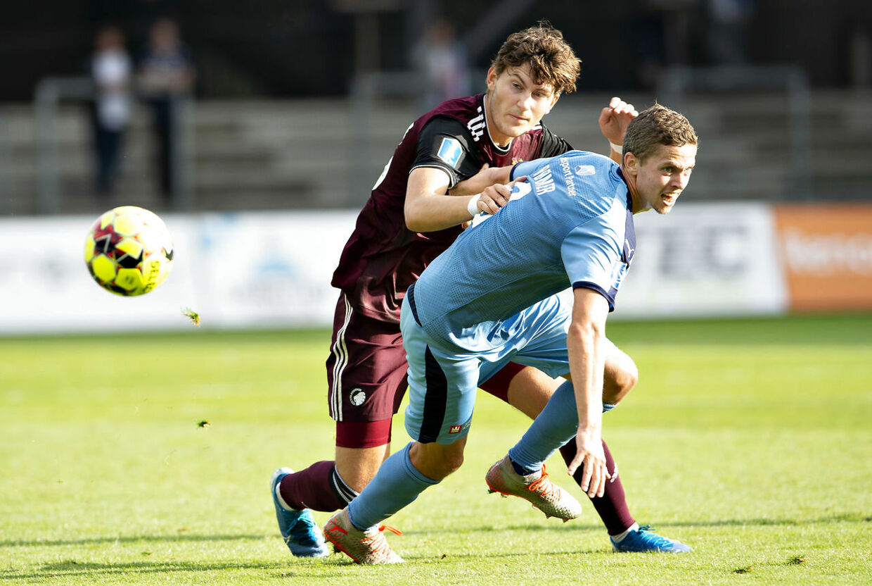 Jonas Wind har ikke været i kamp siden 16. august mod Randers FC.