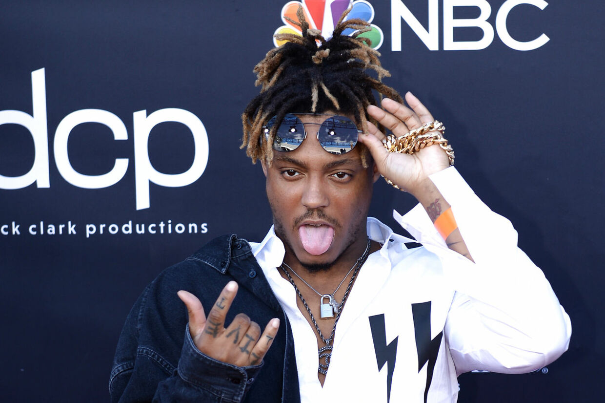 US rapper Juice Wrld attends the 2019 Billboard Music Awards at the MGM Grand Garden Arena on May 1, 2019, in Las Vegas, Nevada. Bridget BENNETT / AFP