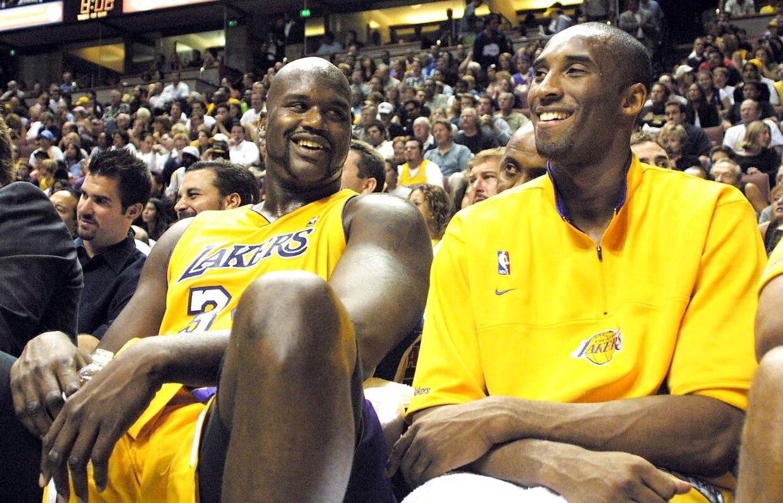 Shaquille O' Neal spillede sammen med Kobe Bryant i Los Angeles Lakers fra 1996 til 2004.