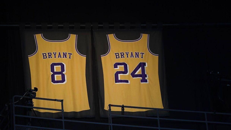 Kobe Bryant spillede i nummer 8 og 24 gennem hans lange og flotte karriere.