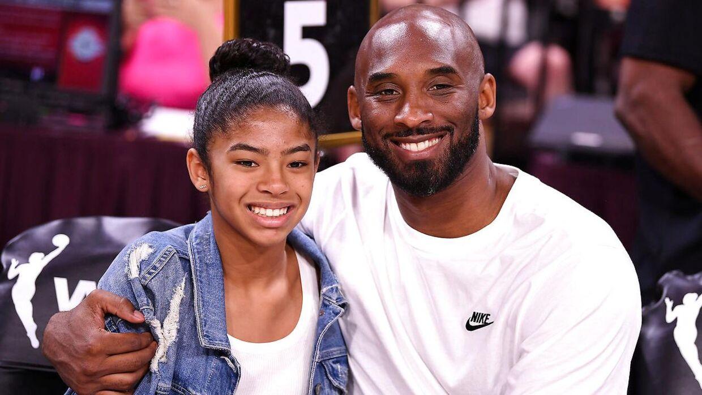ARKIVFOTO af Kobe Bryant og datteren Gianna fra 2019.