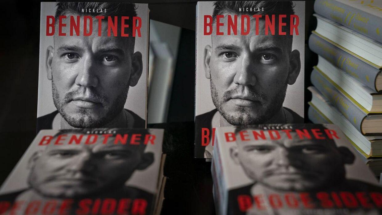 Nicklas Bendtners selvbiografi, fotograferet i Boghallen i Politiken Hus, mandag den 4. november 2019.
