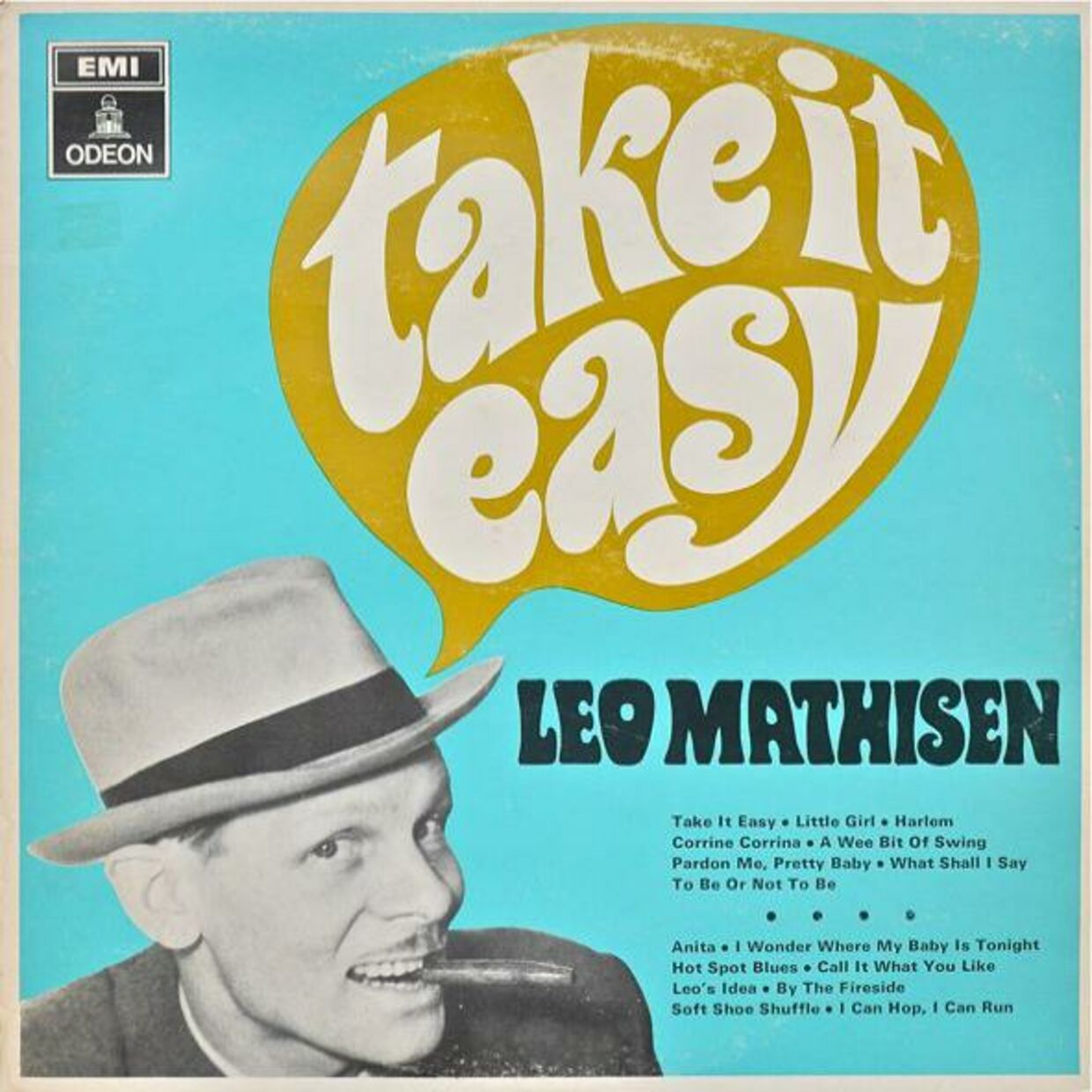 Cover til 'Take It Easy'.