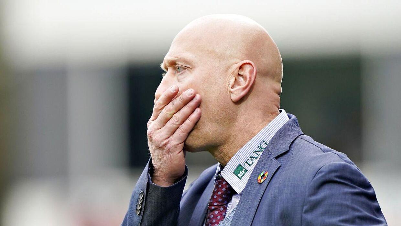 Træner Peter Sørensen har fire spillere fra førsteholdstruppen, der ikke skal med på træningslejr.