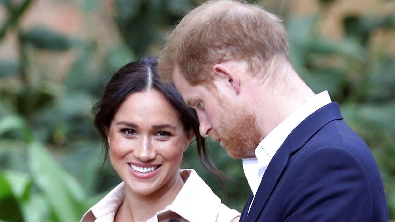 Meghan Markle og prins Harry har tidligere sagsøgt britiske medier at komme for tæt på parret og deres tilværelse.