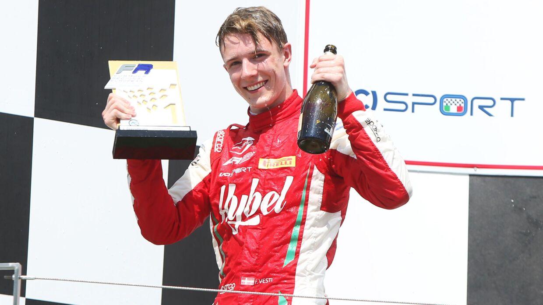 Danske Frederik Vesti har afvist et tilbud om at blive junior-kører hos Formel 1-teamet Red Bull. (Pressefoto)