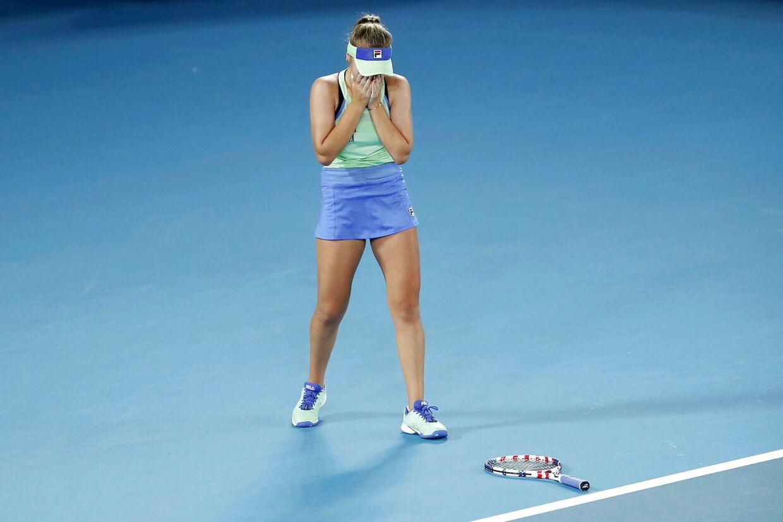 Sofia Kenin har vundet karrierens første grand slam.