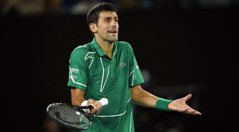 32-årige Novak Djokovic.