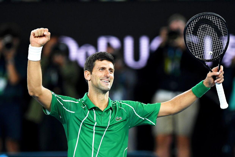 32-årige Novak Djokovic vandt sin 17. Grand Slam.