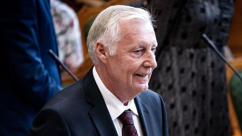 Socialdemokraternes Henrik Dam Kristensen til Folketingets åbning på Christiansborg, tirsdag den 1. oktober 2019.