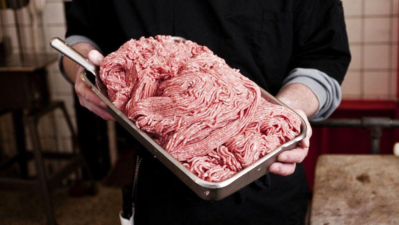 Prisen for hakket kalv og flæsk er steget kraftigt det seneste år.