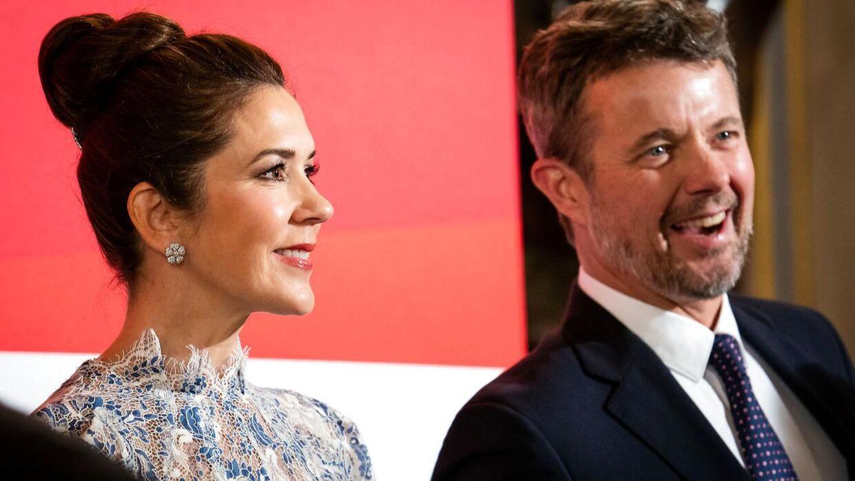 (Arkiv) Kronprins Frederik og kronprinsesse Mary.