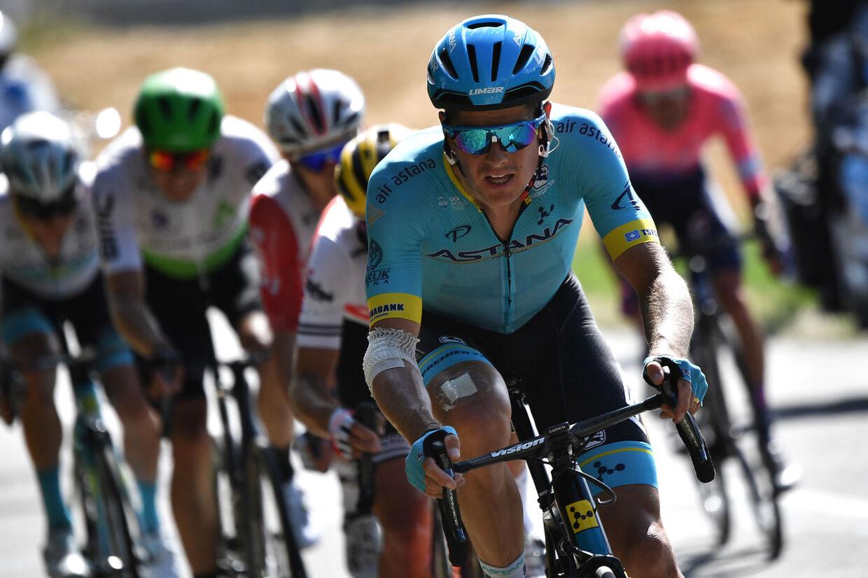 Jakob Fuglsang under sidste års Tour de France.