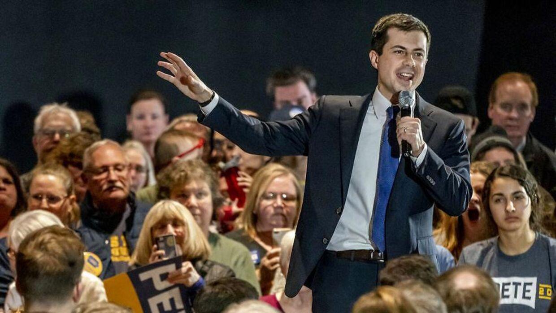 Præsident kandidat for Demokraterne Pete Buttigieg. Den perfekte Millinium mand.